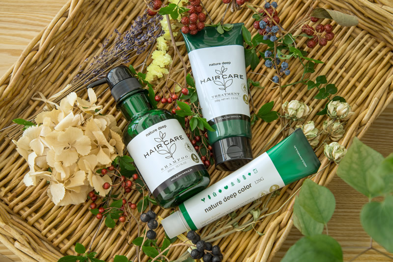 herb haircare and color